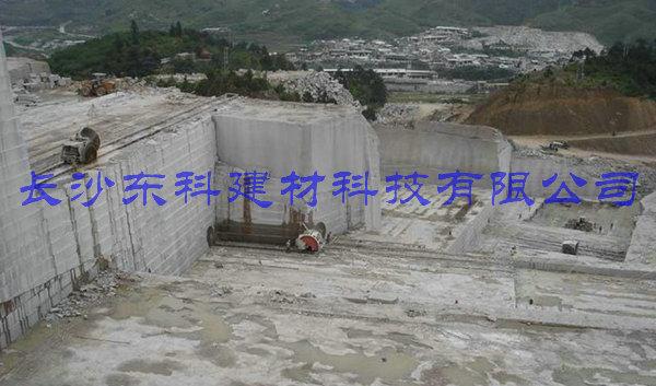 静态破碎剂用于大理石开采