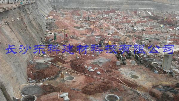 bwin国际官方网站膨胀破碎剂应用于孔桩工程实例